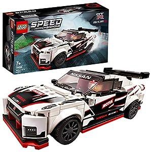 LEGO SpeedChampions NissanGT-RNISMO, Giocattolo Ispirato alle Corsecon Minifigura del Pilota, Set da Costruzione di Auto da Corsa, 76896 5702016618327 LEGO