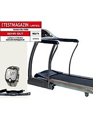 Horizon Fitness Laufband Elite T4000 und FT1 Polar Uhr, Brustgurt und Bodenmatte - Modell 2015