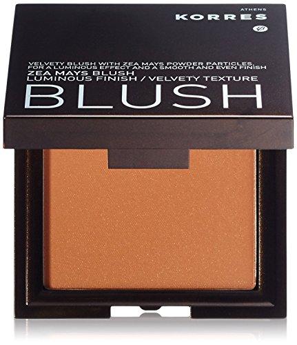 KORRES - Colorete color marrón anaranjado