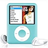 Apple iPod Nano 3 MP3-Player (inkl. Video-Funktion) 8 GB hellblau
