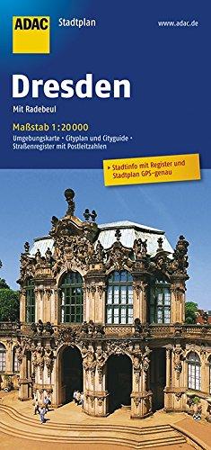 ADAC StadtPlan Dresden mit Radebeul 1:20 000 (ADAC Stadtpläne)
