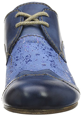Rovers Rovers, Derby femme Bleu - Blau (jeans / jeans)