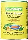 Seitenbacher Klare Suppe ohne Fett,2er Pack (2x 500 g)
