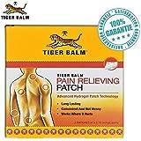 Patchs de Baume du Tigre Rouge - soulage la douleur immédiatement - action longue durée - 10 x 7 cm - paquet de 2 patchs - COMPOSITION ORIGINALE