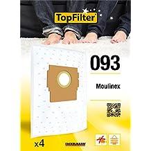 Top Filter 64093 - Bolsa para aspiradoras Moulinex Clean Power (material no tejido)
