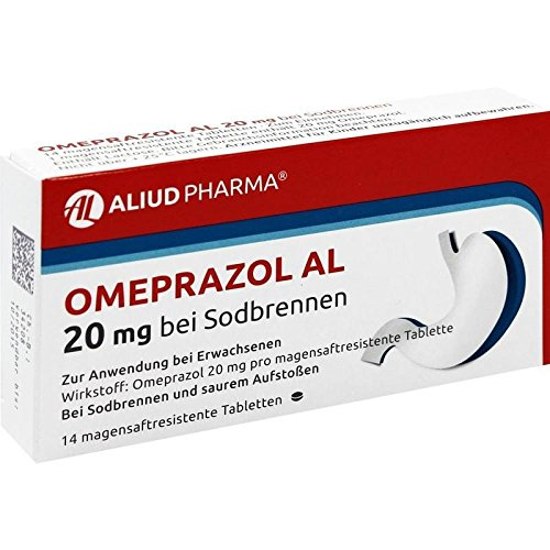 Omeprazol AL 20 mg, 14 St. Tabletten -