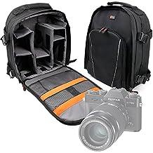 DURAGADGET Mochila Para Cámaras Ckeyin® 1080P | Canon EOS 700D BODY | Olympus E-M10 Mark II Resistente Al Agua + Funda Impermeable
