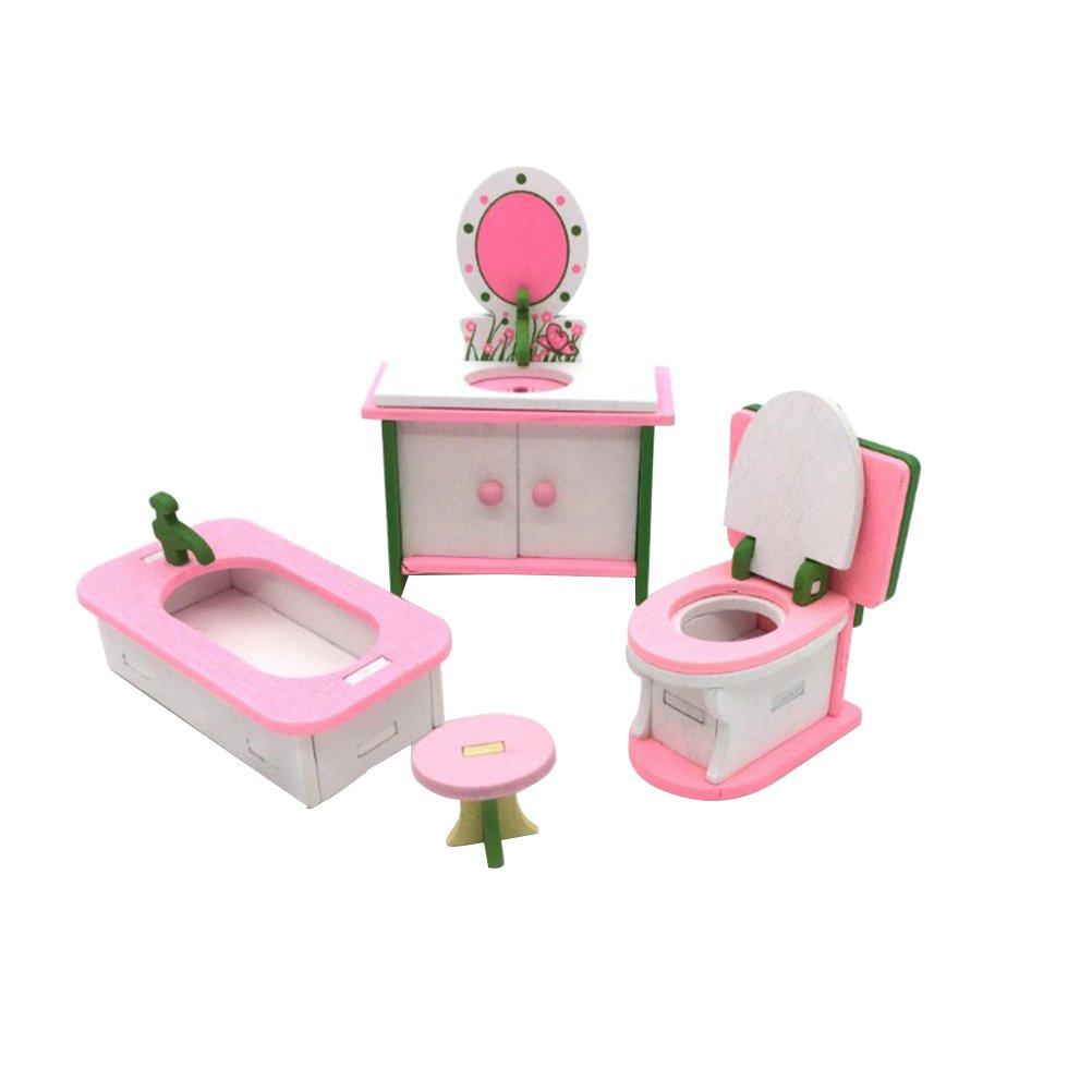 TOYANDONA Comodino in Miniatura Casa delle Bambole Comodino Comodino Accessori per Mobili Casa delle Bambole