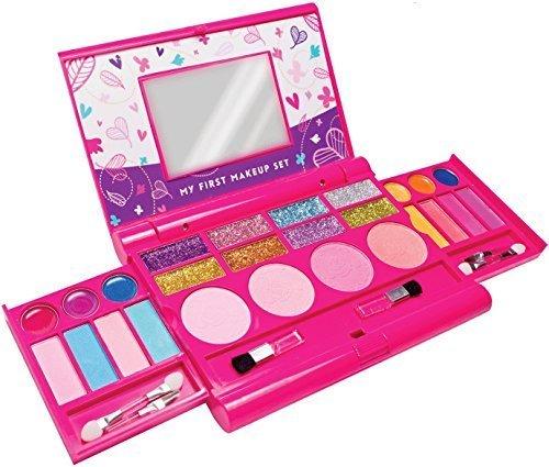 My First Makeup Set - Make-up-Set für Mädchen - hochwertige aufklappbare Schminkpalette mit...
