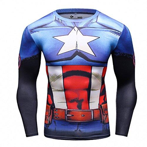 Camiseta Superheroe Capitan America
