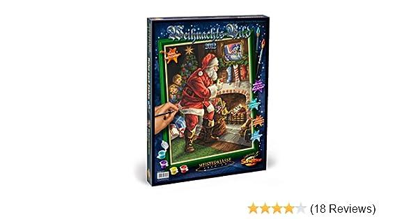 Schipper 609300608 - Malen nach Zahlen - Weihnachtsbild 2012, 40x50 ...