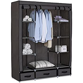 eugad 173 kleiderschrank garderobenschrank. Black Bedroom Furniture Sets. Home Design Ideas