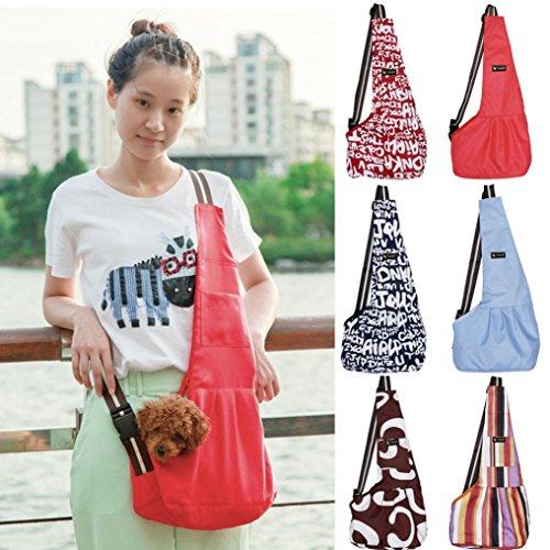 Sansee Hands Free Pet Carrier Tasca Morbida Impermeabile Per Cani Di Piccola Taglia Cat Pets Puppy Tailup28135 F