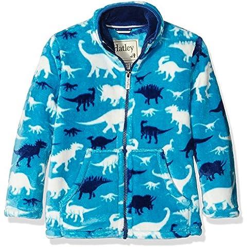 Hatley Fleece Jacket-Silhouette Dinos, Giacca