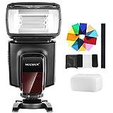 Neewer TT560 Kit Speedlite Flash con 12 filtri colorati e kit di diffusori rigidi, Nero
