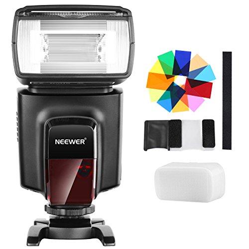 Neewer TT560Flash Speedlite 12Farbfilter-Kit für Canon, Nikon, Panasonic, Olympus, Pentax und Anderen DSLR-Kameras, Hartschalen-Diffusor