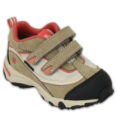 Timberland - Schuhe Turnschuhe Jungen Kinder Klettverschluss Leder Wandern Kleinkind Freizeit 81R Beige