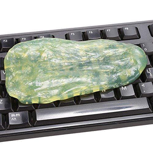 Tiowea Keyboard Cleaner - Entfernen Sie Staub, Haare, Krümel von Tastatur, Tastatur, Air Vent - Super Cleaner Wiper Slimy Gel (zufällige Farbe) -