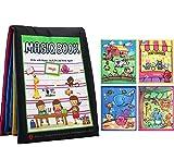 Gperw Kleinkindspielzeug Lernen Graffiti Wasser Leinwand Buch Early Childhood Education Puzzle-Tool