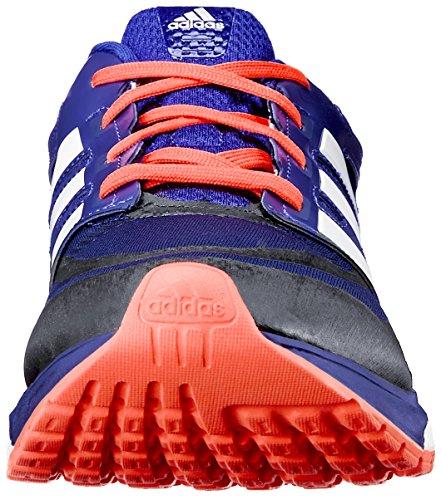 adidas Performance Men's Response Boost Techfit M Running Shoe, Core Nero/Metallic Argento/Dark arancia, 11.5 M US Collegiate Navy/Amazon Purple/Infrared