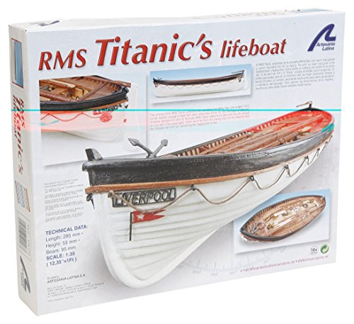 Modell aus Holz: RMS Titanic Rettungsboot 1/35