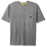 تي شيرت رجالي جيب بشعار Caterpillar -  Logo Pocket T-shirt Large