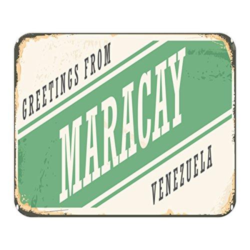 Mauspad Fernweh Stadt Maracay Venezuela Bedruckt