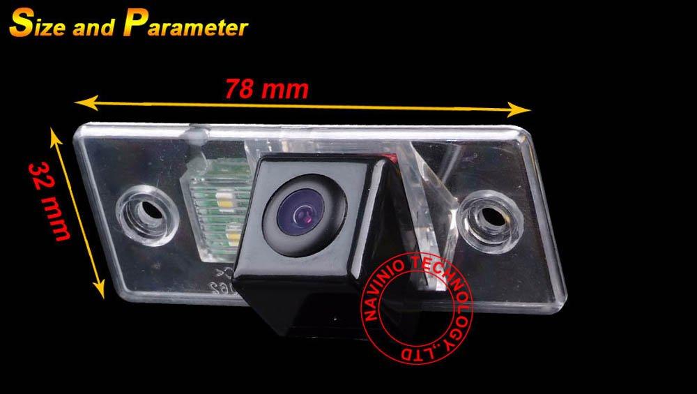 Greatek-Auto-Rckfahrkamera-verbesserte-Einparkhilfe-mit-8IR-Nachtsicht-170-Weitwinkel-Wasserdicht-Hoche-Defination-schwarz-fr-VW-Jetta-Polo-Skoda-Scirocco-Fabia-t5-Jatta-Multivan-VW-Tiguan-Touareg-San