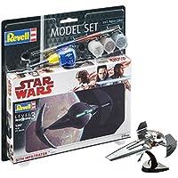 Revell–Star Wars–Model Set Sith Infiltrator, en Kit Modelo con Base Accesorios, fácil Pegar y para pintarlas, Escala 1:257  (63612)