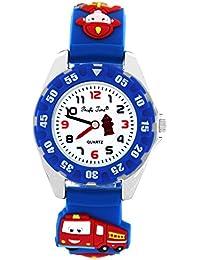 Pacific Time 214471 - Reloj analógico de cuarzo con correa de silicona para niño
