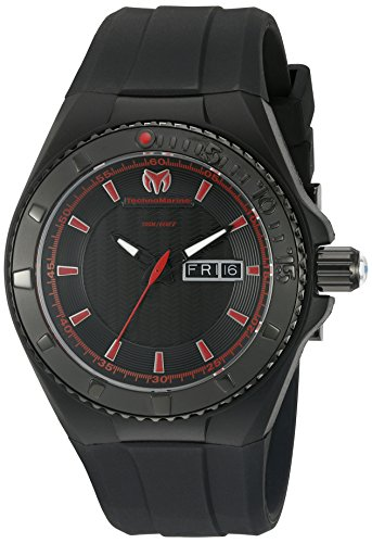 technomarine-mens-quartz-watch-with-black-dial-analogue-display-and-black-silicone-strap-tm-115167