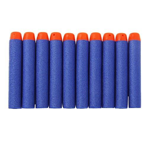 Generic 100 x Kid Gift Toy Gun Nerf Bullet Foam Darts for N-STRIKE ELITE Guns...-15012479MG