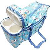 Wonder Kids Bunny Print Baby Diaper Bag (Blue)