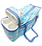 Wonderkids Bunny Print Baby Diaper Bag (...