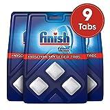 Купить Finish Maschinenpfleger Tabs,  Spülmaschinenreiniger, Maschinenpfleger gegen Schmutz- und Fettreste, 3er Pack (3 x 3 Stück)