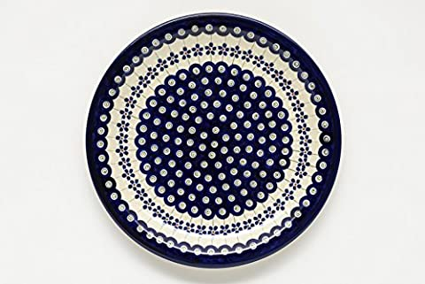 Boleslawiec Pottery Dinner Plate, pattern
