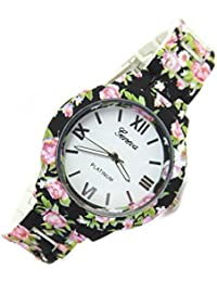 Divine Floral Designer Watch For Women