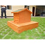 Easipet Duck House wooden floating platform 263 9