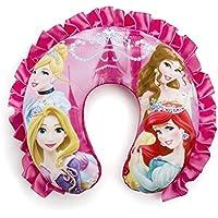 Disney Princess New Super Soft Neck Pillow Kids Comfortable Round Shaped Travel Pillow