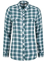 Mountain Warehouse Willow Brushed Flannel LS Womens Shirt - Lightweight, Soft Lining with Extra Warmth & Comfort - Easy to Pack & Easy Care - Great for Travelling