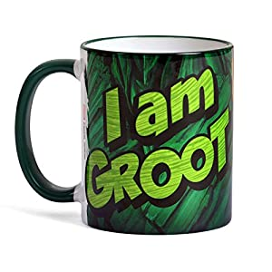 Guardians of the Galaxy Vol. 2 Mug I Am Groot by Elbenwald Ceramic Green