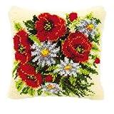 Vervaco Knüpfkissen Blumenstrauß
