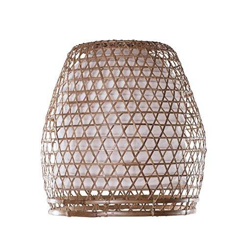 Lampenschirm Basket Bambus Natur Aus Bali Bamboosphere