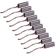 10pcs 4.5 x 6.5 x 20 mm Cepillos de carbón Cables de plomo Generador Genérico Motor