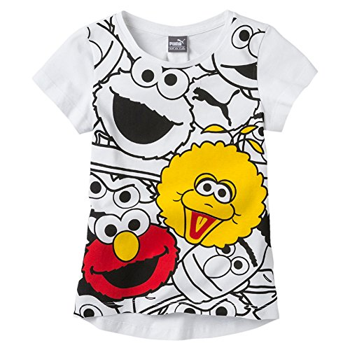 puma-ninos-sesame-street-graphic-tee-camiseta-infantil-sesame-street-graphic-tee-puma-white-2-anos-9
