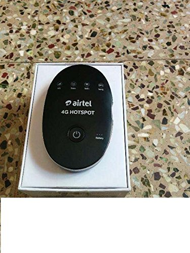 Airtel 4G Hotspot (White) Support Only Airtel 2g/3g/4g Post paid & Prepaid  Simcards) Product Sold By Pcs Systems