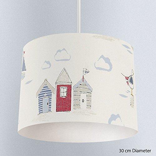 blue-red-john-lewis-beside-the-seaside-beach-huts-seagull-handmade-lampshade-ceiling-pendant