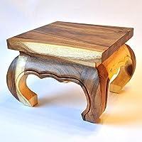 Oppio Tavolino in legno massiccio,
