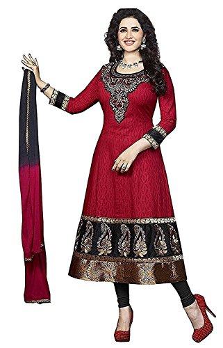 Jashvi Creation Women's Ethnic Wear Poly Cotton Unstitched Regular Wear Salwar Suits Dress Material