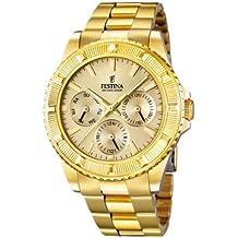 a6b40a85a0ac Festina Vendome F16693 2 - Reloj analógico de Cuarzo para Mujer